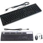 Kit Tastiera e Mouse DIVERSE MARCHE USB Black ITA
