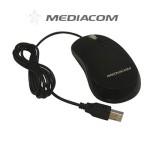 Scroll Mouse Mediacom Easy Mouse 100/MEB32 USB con Sensore Ottico 800DPI NUOVO