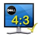 PC Monitor LCD 17 Pollici Dell Ultrasharp 1708FPT-FPF 4 USB 4:3 BLACK SILVER
