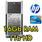Server HP Proliant ML350e G8 Xeon Quad Core E5-5606 2.13GHz 16Gb Ram 1Tb Tower 1 PSU Smart Array B120i