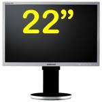 Monitor LCD 22 Pollici Samsung SyncMaster 225BW VGA DVI BLACK