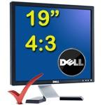Monitor PC LCD Dell E198FP Flat Panel 19 Pollici Black 4:3