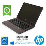 Notebook HP ProBook 6460b Core i5-2520M 2.5GHz 4Gb 320Gb 14' HD LED DVDRW WBCAM Windows 10 Professional