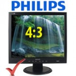 Philips L170S Monitor LCD 17' TCO99 Usato Black 4:3