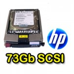 Hard Disk per Server HP 72.8 GB UW320 10k SCSI per Proliant DL380 ML BL 365695-007