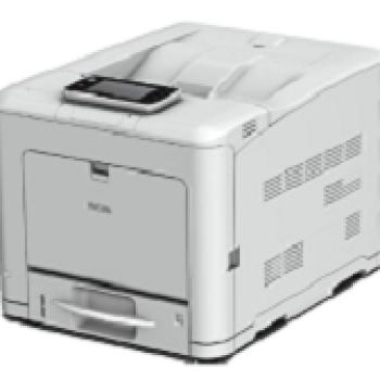 RICOH RHSPC340DN PRT LASER COL A4 25PPM 1200DPI RAM 2GB F/R ETH/USB