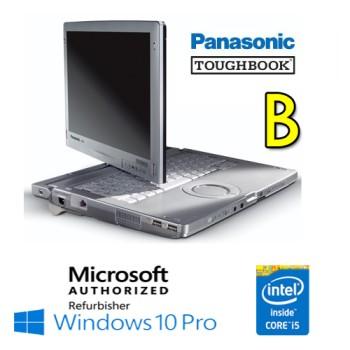 Notebook Panasonic Toughbook CF-C1 Core i5-2520M 4Gb 240Gb SSD 12.1' Touchscreen Win.10 Professional [Grade B]