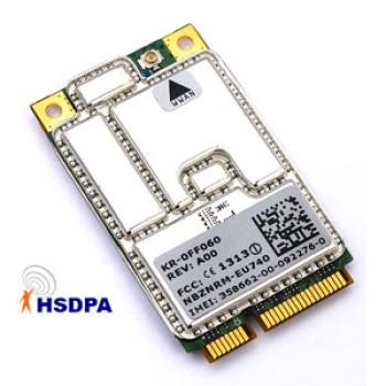 Scheda 3G Dell HSDPA NBZNRM-EU740 UMTS Mini PCI per Portatili