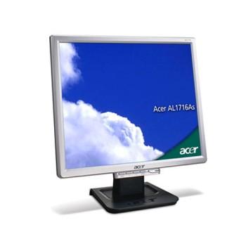 PC Monitor LCD 17 Pollici Acer AL1716 Silver 4:3