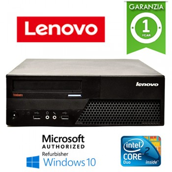 PC Lenovo ThinkCentre M58 SFF Core 2 Duo E7300 2.66GHz 4Gb Ram 160Gb DVD-RW Windows 10 HOME