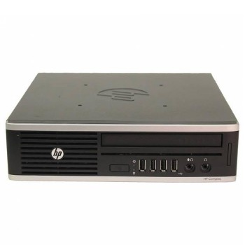 PC HP Compaq 8000 Elite USDT Core 2 Duo E8400 3.0GHz 4Gb Ram 250Gb DVD Windows 10 Professional Ultra Small