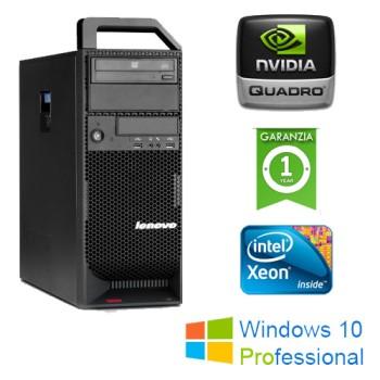 Workstation Lenovo ThinkStation S20  Xeon W3550 4Core 12Gb 320b DVD Quadro 4000 2Gb Windows 10 Professional