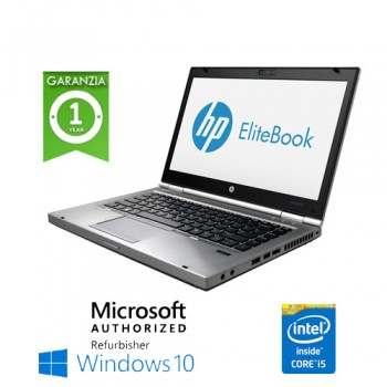 Notebook HP Elitebook 8460p Core i5-2520M 2.5GHz 4Gb 320Gb DVDRW 14.1' LED HD Windows 7 Professional