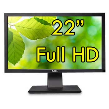 Monitor 22 Pollici DELL Professional P2211H 1920x1080 VGA DVI USB Full HD PIVOT Black