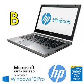 Notebook HP EliteBook 8470p Core i5-3320M 2.6GHz 4Gb Ram 320Gb 14.1' LED HD DVD-RW Windows 10 Pro [GRADE B]