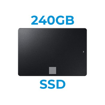 UPGRADE A SSD 240GB SATA3 2.5' Installazione Inclusa (Ordinabile solo con nostri PC/Notebook)