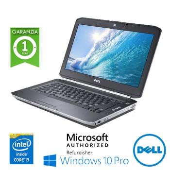 Notebook Dell Latitude E5420 Core i3-2330 4Gb 250Gb 14.1' DVDRW WEBCAM Windows 10 Professional