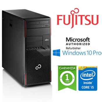 PC Fujitsu ESPRIMO P900 Core i5-2400 3.1GHz 4Gb 500Gb DVD-RW Windows 10 Professional TOWER