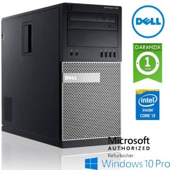 PC Dell OptiPlex 790 MT Core i3-2120 3.3GHz 4Gb Ram 250Gb DVD-RW Windows 10 Professional Tower MT