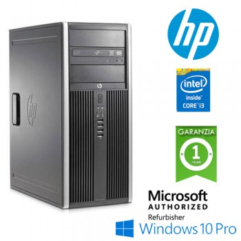 PC HP Compaq 6200 Pro CMT Core i3-2100 3.1GHz 4Gb Ram 250Gb DVD-RW Windows 10 Professional Tower