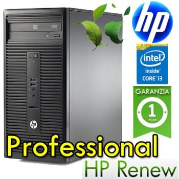 PC HP 280 G1 MT Core i3-4160 3.6GHz 4Gb Ram 500Gb RW Windows 10 Pro K8K38EA 1Y
