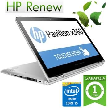 Notebook HP Pavilion x360 13-s110nl Core i5-6200U 4Gb 500Gb 13.3' LED HD TouchScreen Windows 10 T9P01EA 1Y