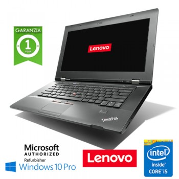 Notebook Lenovo Thinkpad L430 Core i5-3210M 4Gb 320Gb 14' WEBCAM DVDRW Windows 10 Professional