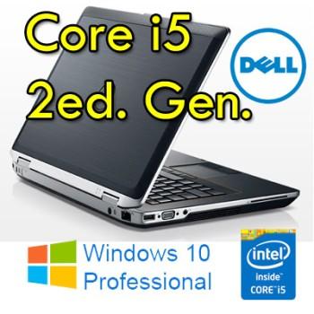 Notebook Dell Latitude E6420 Core i5-2520M 2.5GHz 4Gb Ram 320Gb 14.1' DVD WEBCAM Windows 10 Professional