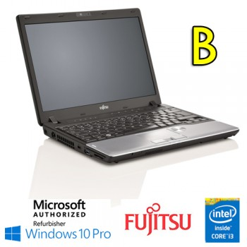 Notebook Fujitsu Lifebook P702 Core i3-3120M 2.5GHz 4Gb 128Gb 12.1' Webcam Windows 10 Professional [Grade B]