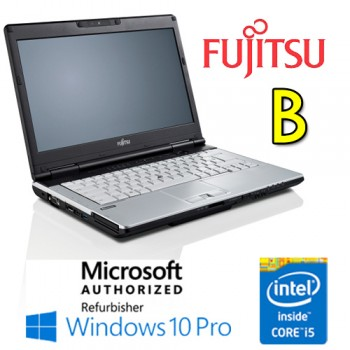 Notebook Fujitsu Lifebook S781 Core i5-2450M 4Gb Ram 320Gb DVD-RW 14' Windows 10 Professional [Grade B]