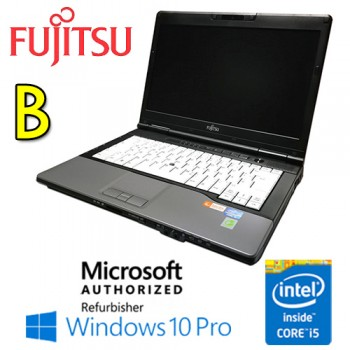 Notebook Fujitsu Lifebook S782 Core i5-3230M 4Gb 320Gb DVD-RW 14.1' Windows 10 Professional [Grade B]