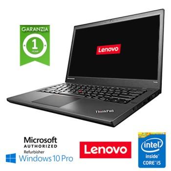 Notebook Lenovo Thinkpad T440 Core i5-4300U 8Gb 240Gb SSD 14.1' WEBCAM Windows 10 Professional