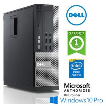 PC Dell Optiplex 790 SFF Core i3-2120 3.3GHz 4Gb 250Gb DVD-RW Windows 10 Professional SFF