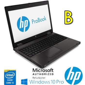Notebook HP ProBook 6570b Core i5-3360M 2.8GHz 4Gb 320Gb 15.6' LED DVD-RW SERIALE Windows 10 Pro. [GRADE B]