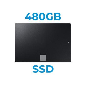 UPGRADE A SSD 480GB SATA3 2.5' Installazione Inclusa (Ordinabile solo con nostri PC/Notebook)
