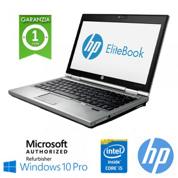 Notebook HP EliteBook 2570p Core i5-3340M 2.7GHz 8Gb 320Gb 12.5' HD Windows 10 Professional