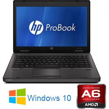 Notebook HP ProBook 6475b AMD A6-4400M 4Gb 320Gb 14.1' DVDRW Radeon HD 6480G Windows 10 HOME