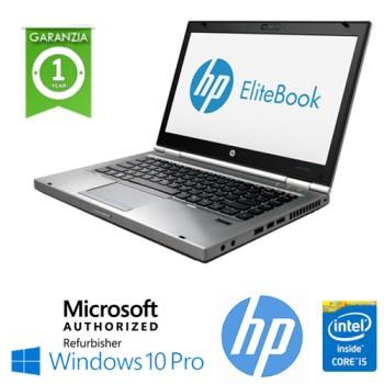 Notebook HP EliteBook 8470p Core i5-3320M 2.6GHz 4Gb Ram 320Gb 14.1' LED HD DVD-RW Windows 10 Professional