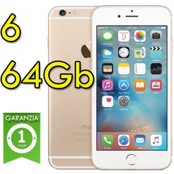 Apple iPhone 6 64Gb White Gold MG4J2ZD/A Oro 4.7' Originale iOS 10