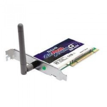 Scheda di Rete Wifi D-Link AirPlus XtremeG - 108Mbps Super G Wireless 802.11g PCI adapter 108Mbit/s