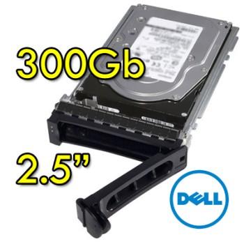 Hard disk per Server Dell 9WE066-150 300Gb SAS 10K 2.5' Hot Swap per R610 R710 R910 Altri