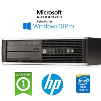 PC HP Compaq 6300 Pro Core i5-3470 3.2GHz 4Gb Ram 500Gb DVDRW Windows 10 Professional