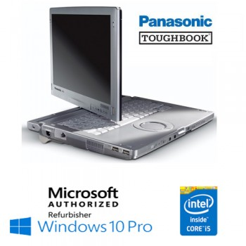 Notebook Panasonic Toughbook CF-C1 Core i5-2520M 8Gb 240Gb SSD 12.1' Touchscreen Windows 10 Professional