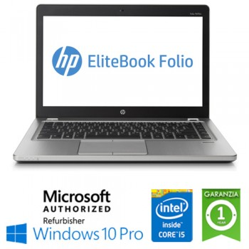 Notebook HP EliteBook Folio 9470M Core i5-3437U 8Gb 180Gb SSD 14' Windows 10 Professional