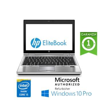 Notebook HP EliteBook 2570p Core i5 3340M 2.7GHz 8Gb 320Gb 12.5' HD WEBCAM Windows 10 Professional