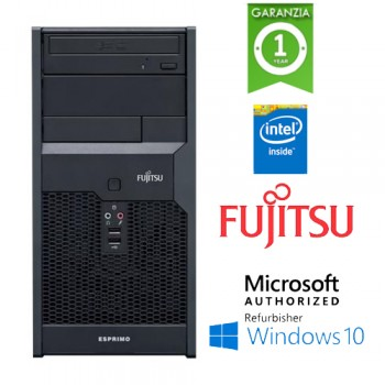 PC Fujitsu Esprimo P2550 Core 2 Duo E5400 2.7GHz 4Gb Ram 320Gb DVD-RW Windows 10 Professional