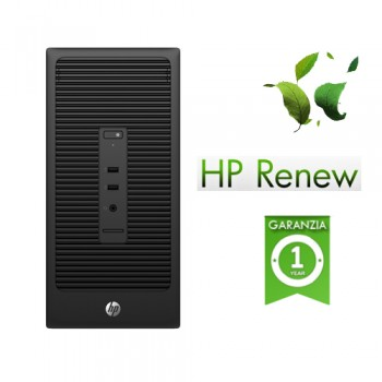 PC HP 200 285 G2 AMD A8 PRO-7600B 3.1GHz 4Gb 1Tb dvdrw Windows 10 Professional Microtower