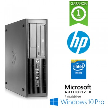 PC HP Compaq 4300 Pro Intel G870 3.1GHz 4Gb Ram 500Gb DVDRW Windows 10 Professional