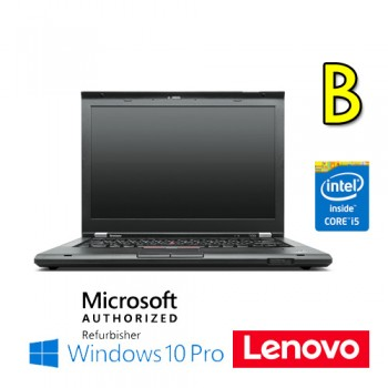 Notebook Lenovo Thinkpad T430 Core i5-3320M 4Gb 320Gb 14'  DVDRW Windows 10 Pro [GRADE B]