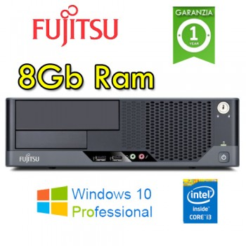 PC Fujitsu Esprimo E9900 Core i3-540 3.06GHz 8Gb Ram 250Gb no ODD Windows 10 Professional